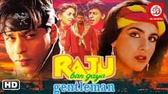 Raju Ban Gaya Gentleman Hindi Full Movies | Shah Rukh Khan, Nana Patekar, Amrita Singh | Hit Movies