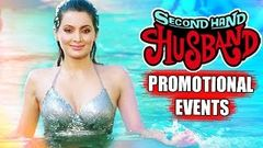 Second Hand Husband 2015 Movie Promotional Events | Gippy Grewal, Tina Ahuja, Dharmendra