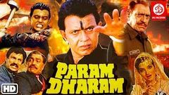 Param Dharam Full Movie | Mithun Chakraborty, Mandakini & Amrish Puri | Bollywood Action Movies