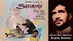 Shrimanji 1968 | Full Hindi Movie | Rajesh Khanna Guest Appearance, Kishore Kumar, I S Johar