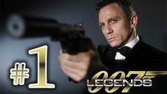 007 Legends - Gameplay Walkthrough Part 1 HD - Bond James Bond (1 Hour+)!