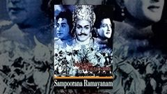 NTR Sampoorna Ramayanam (1958) Telugu Full Movie NTR - Rama - Padmini