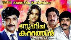 Snehicha Kuttathinu (1985) Malayalam Full Movie | Premnazir | Ratheesh | Seema | Soman |
