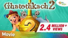 Ghatothkach 2 Hindi - Exclusive Full Length Movie - Animated Movies for Kids - HD