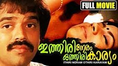 Ithiri Neram Othiri Karyam Full Length Malayalam Movie Balachandra Menon Srividya