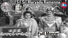 Sri Sri Sri Maryada Ramanna Full Length Telugu Movie | Padmanabham | Geetanjali