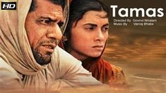 Tamas 1987 - Dramatic Movie | Om Puri, Amrish Puri, Manohar Singh, Deepa Sahi