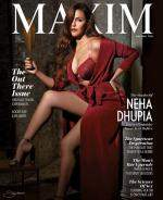 Neha Dhupia  Maxim India May 2018