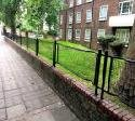 London Railings Made From World War 2 Stretchers
