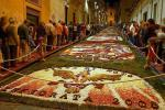 Flower Carpets at Infiorata Festival Italy