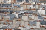 The Chimneypots of Paris Rooftops