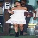 Malaika Arora at Salma Khans Birthday Party