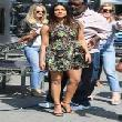 Priyanka Chopra on Extra at Universal Studios in LA