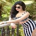 Adah Sharma Black and White Striped Dress